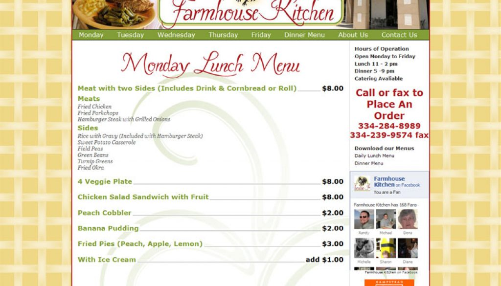 Farmhouse Kitchen Online