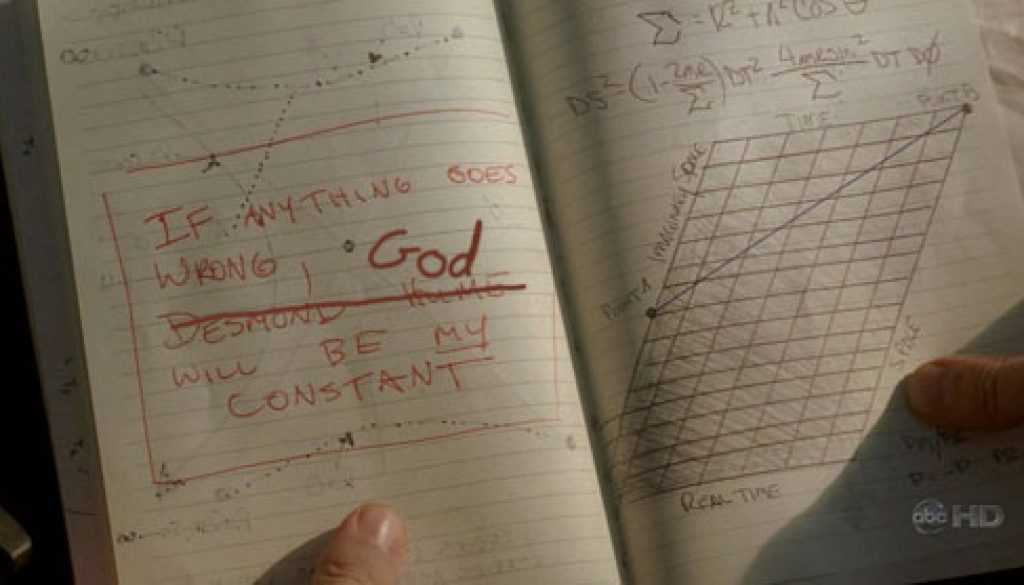 If anything goes wrong, God will be MY constant!