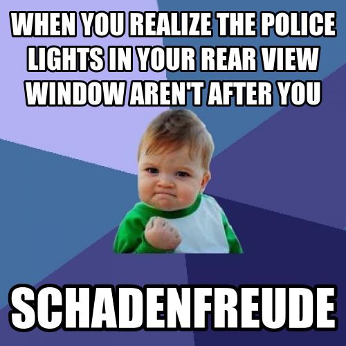Schadenfreude