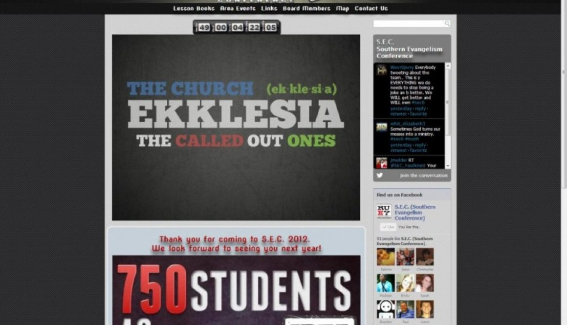 Southern Evangelism Conference Website